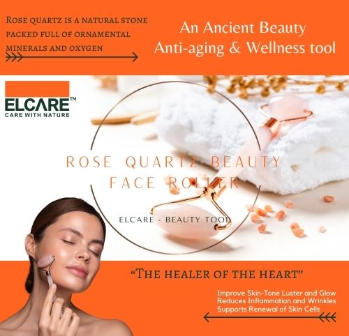 ROSE QUARTZ Beauty Face Roller