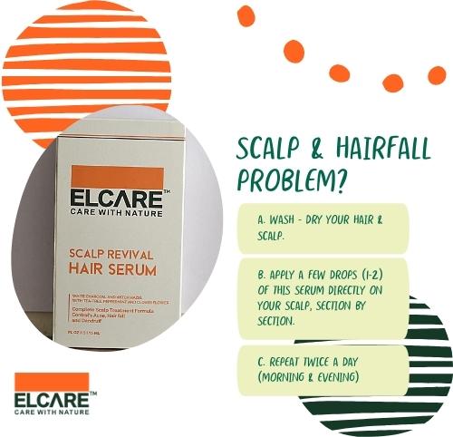 SCALP REVIVAL <br>HAIR     SERUM